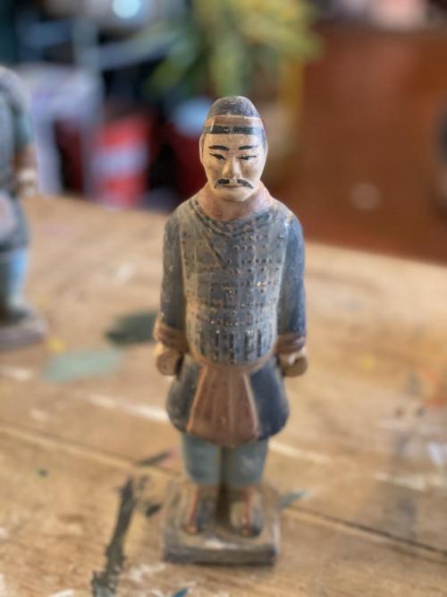 Chinese Cla Warrior Figure