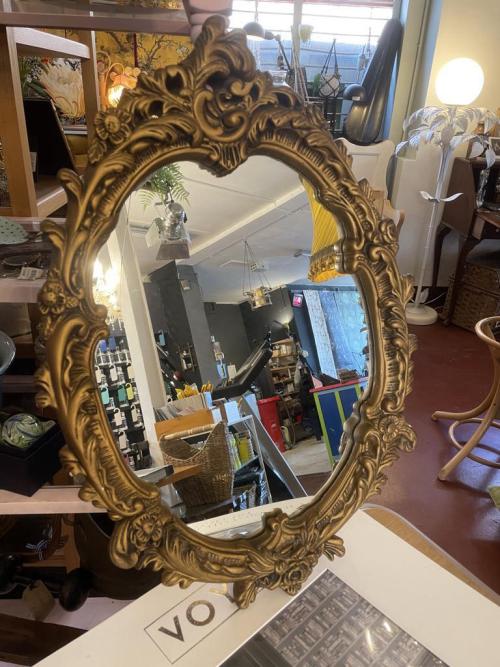 Ornate Oval Mirror