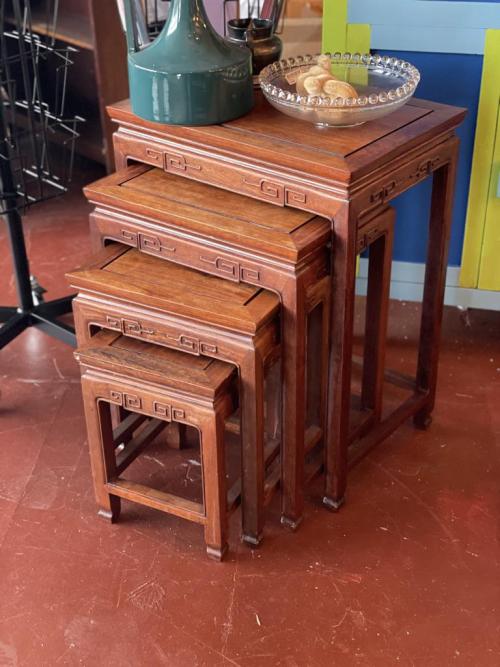 4 Piece Nesting Table Set