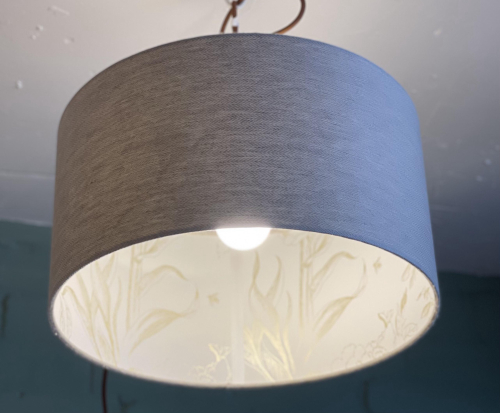 Double Sided Drum Shade