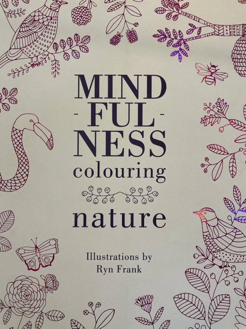 MIND FUL NESS colouring  nature