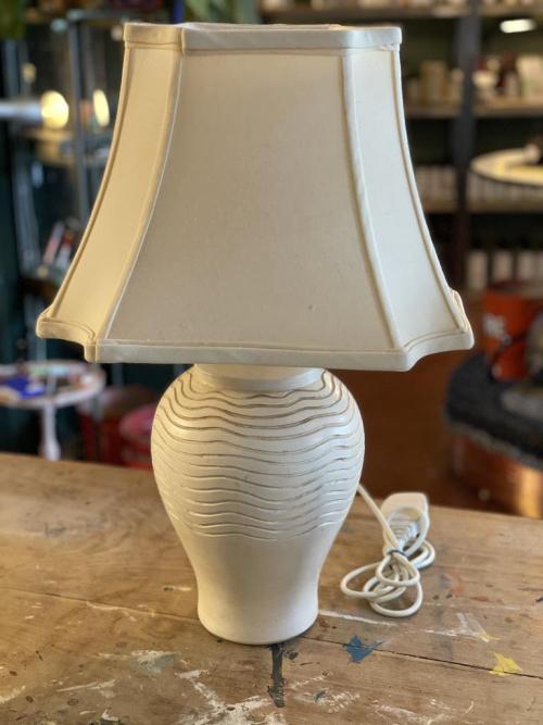 Cream Lamp