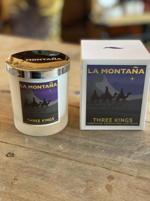La Montana 40hr Candle Three Kings
