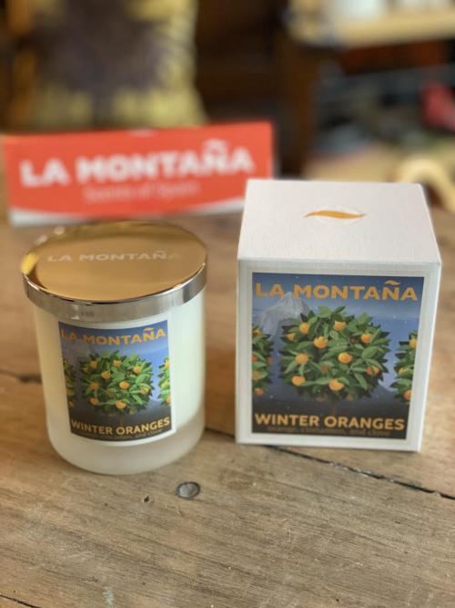 La Montana 40hr Candle  Winter Oranges