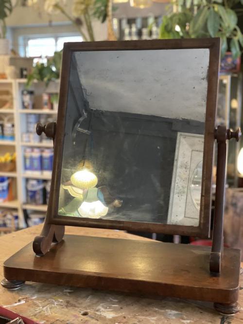 Wooden Standing Dressing Mirror