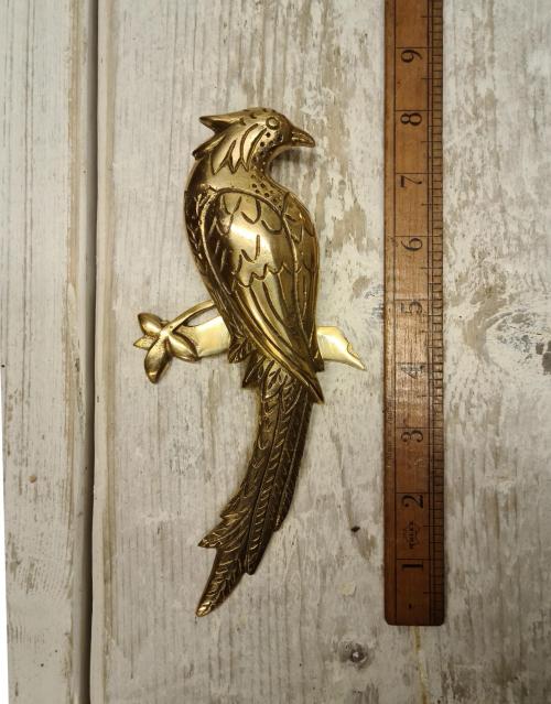 Brass Parrot Door Knocker