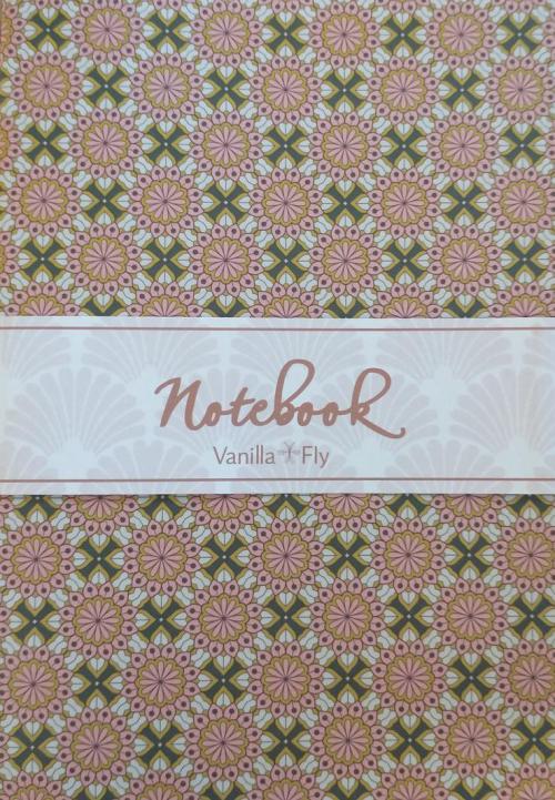 A5 Notebook Pink 1/5