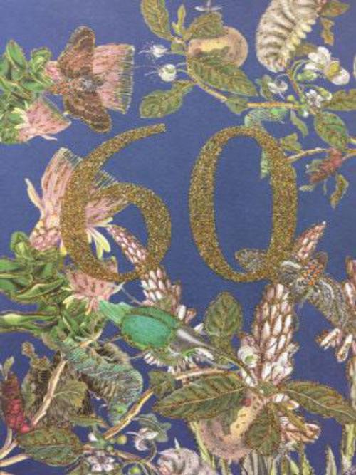 A5 60 Years Card CARD63