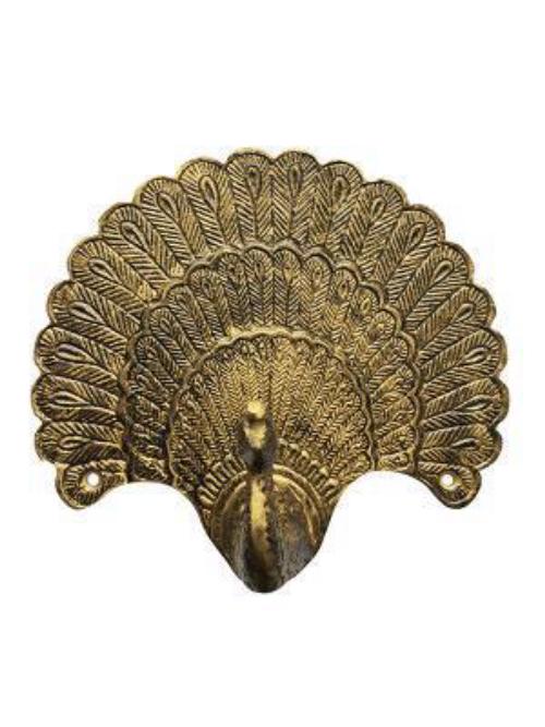 Brass Peacock Hook