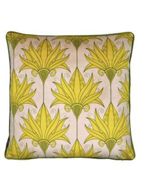 'Yellow Lily' Cushion LA116