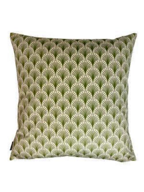 'Green Fan' Cushion LA111