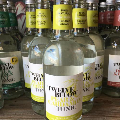 Twelve Below Tonic Pear & Cardamon