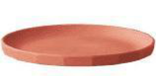 Kinto Alfresco Plate 250mm Red