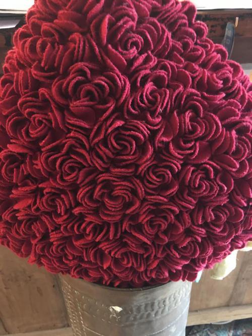 Rose Textured Cushion
