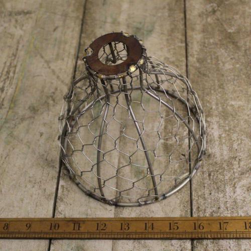 """Chicken Wire Pendant 6"""""""