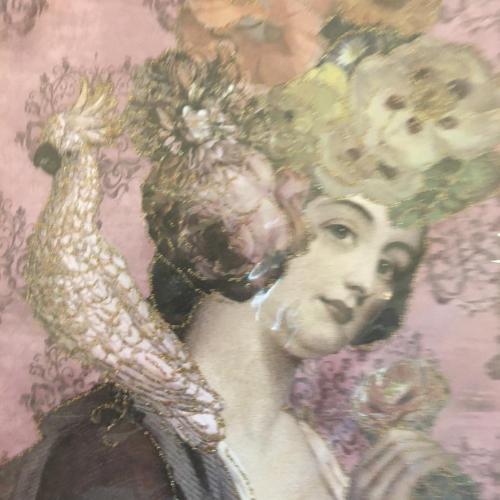 Flower Lady Card