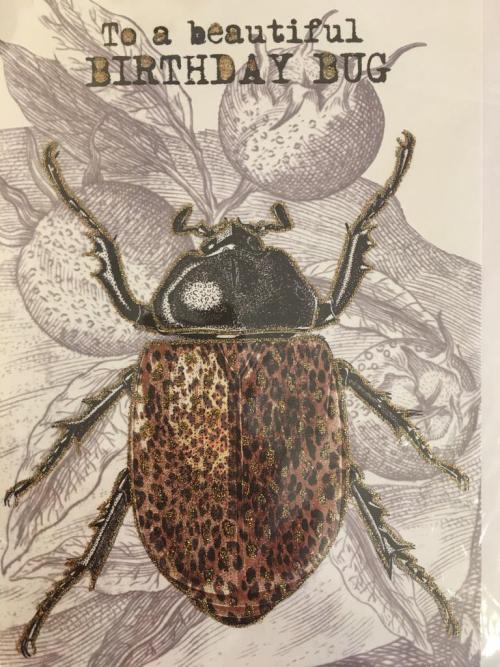 A5 To A Beautiful Birthday Bug CARD32