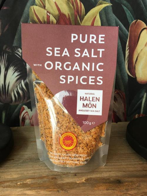 Halen Mon  Organic Spices Sea Salt