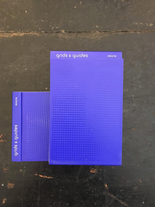 Grids and Guides Blue