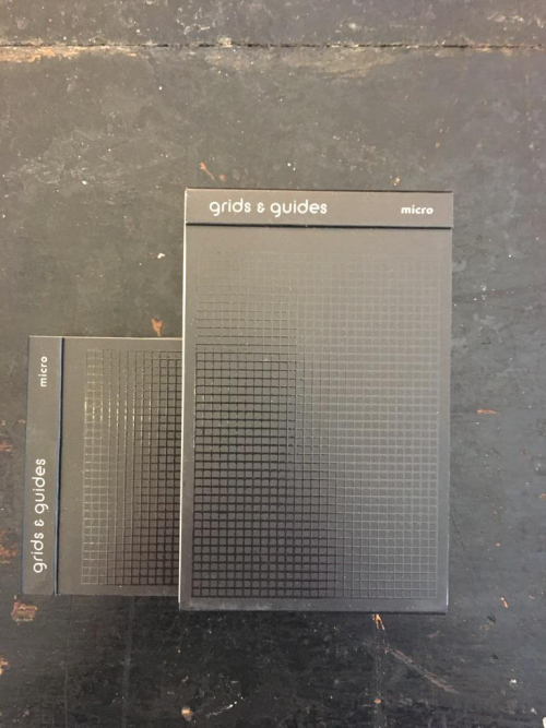 Grids and Guides Black