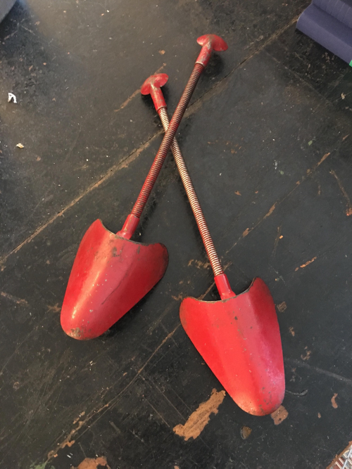 Pair Red Shoe Trees