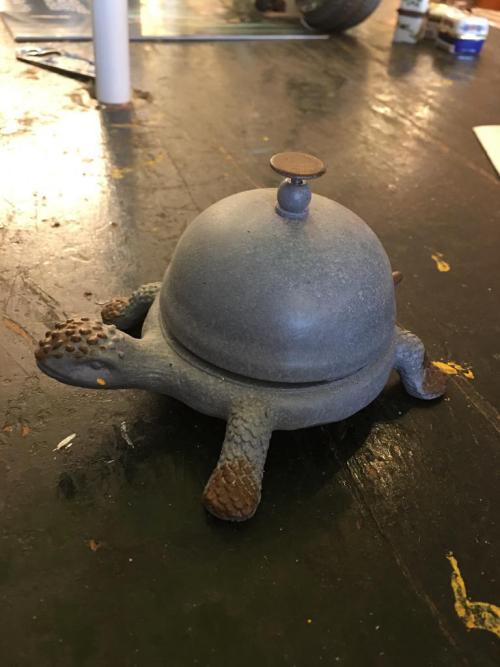 Turtle Desk Bell