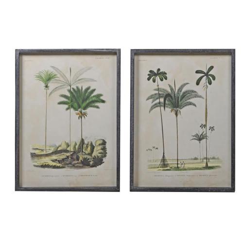 Palm Tree Prints Pair CH