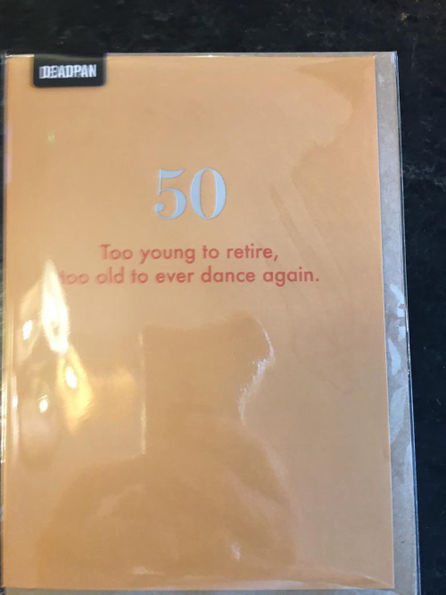 50 too young to retire...