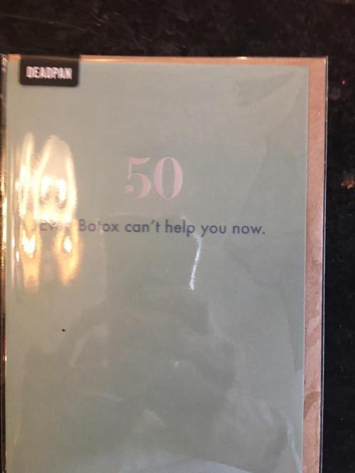 50 Even Botox...