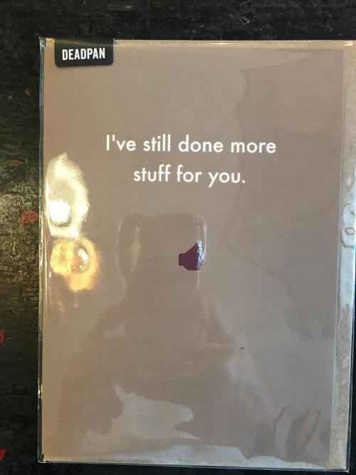 I've still done..