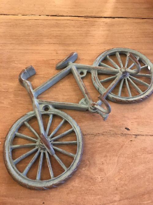 Bike triple hook