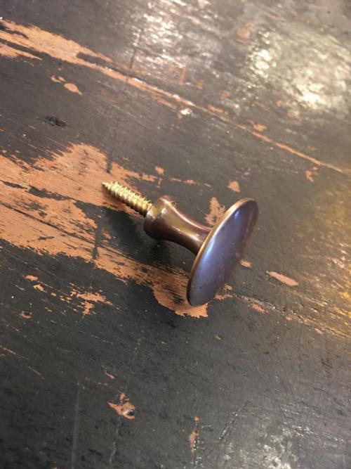 Brass Shutter Bureau Knobs
