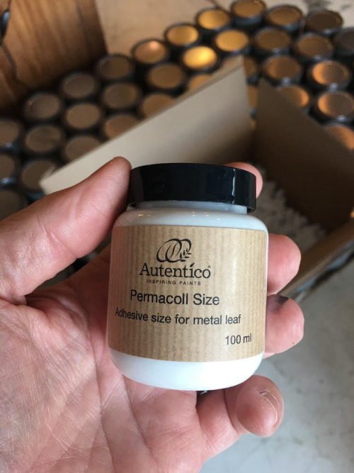 Permacoll Size Adhesive for Gold Leaf