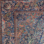 A Fine Pair of Mohtasham Kashan Rugs