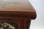 19TH CENTURY CHINESE RED LACQUER CABINET