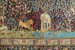 A FINE KIRMAN GARDEN CARPET, SOUTH PERSIA