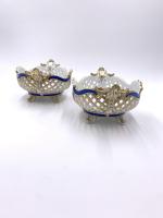 Marcolini Period Meissen Porcelain Open Work Fruit Basket