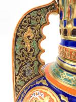 19TH CENTURY ALHAMBRA-STYLE VASE