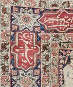 PICTORIAL KIRMAN RAVAR RUG (NOOR ALI SHAH), PERSIA, CIRCA 1900