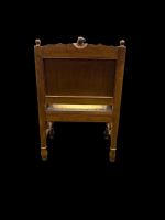 A FINE 19TH CENTURY EGYPTIAN REVIVAL SET OF THREE FURNITURE