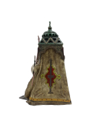 COLD PAINTED BRONZE BY FRANZ XAVER BERGMANN TABLE LAMP
