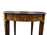 Centre Table Round Marble and Bronze Ornaments