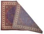 A FINE WOOL KASHAN CARPET, PERSIA, CIRCA 1920
