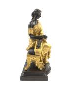 19TH CENTURY FRENCH BRONZE FIGURINE BY FRANÇOIS-THÉODORE DEVAULX
