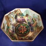 Wedgwood fairyland Lustre hexagonal bowl