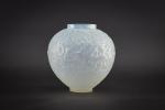 Rene Lalique opalescent Gui vase