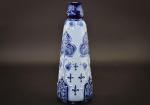 Moorcroft Florian vase with fleur de lys design