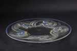 Rene Lalique large opalescent  Calypso charger