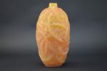 Rene Lalique Butterscotch Ronces vase