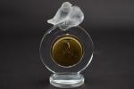 R Lalique Pierots clock